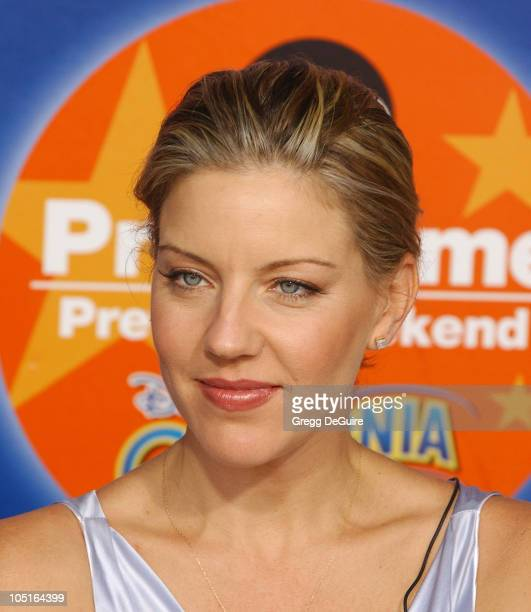 Andrea Parker during 2003 ABC Primetime Preview Weekend Day 2 at Disney's California Adventure in Anaheim California United States