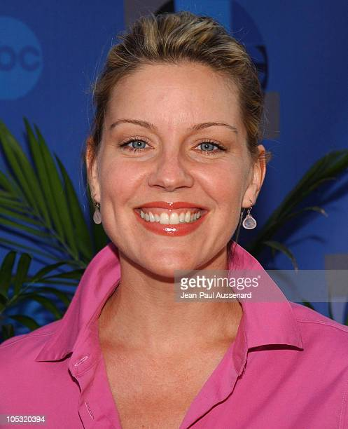 Andrea Parker during 2004 ABC All Star Summer Party at C2 Cafe in Century City California United States