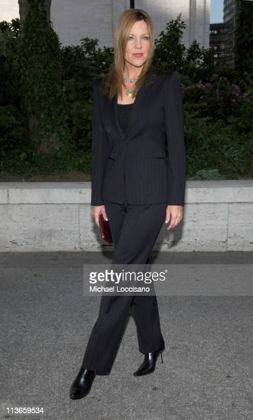 Andrea Parker during 2005/2006 ABC UpFront Arrivals at Lincoln Center in New York City New York United States