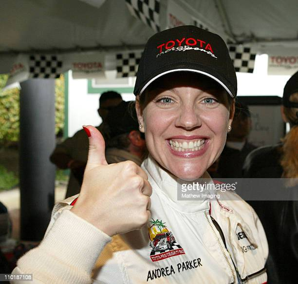 Andrea Parker during 28th Annual Toyota Pro/Celebrity Race - Race Day at Streets of Long Beach in Long Beach, California, United States.