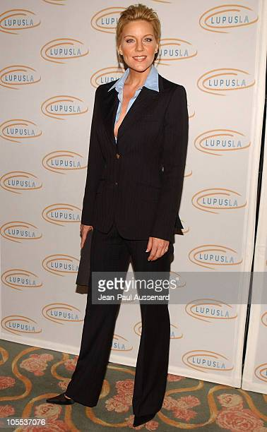 Andrea Parker during 3rd Annual 'Hollywood Bag Ladies' Lupus Luncheon Arrivals at Beverly Hills Hotel in Beverly Hills California United States