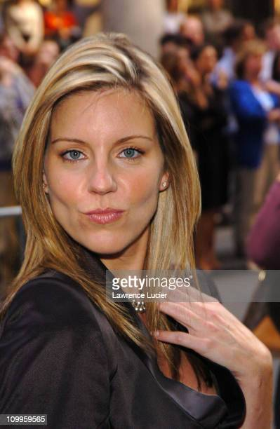 Andrea Parker during ABC 2004/2005 Primetime Upfront Arrivals at Cipriani's in New York City New York United States