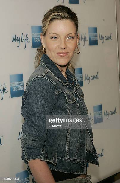 """Andrea Parker during American Express """"Jam Sessions"""" at the House of Blues with Kid Rock - Arrivals at House of Blues in Hollywood, California,..."""