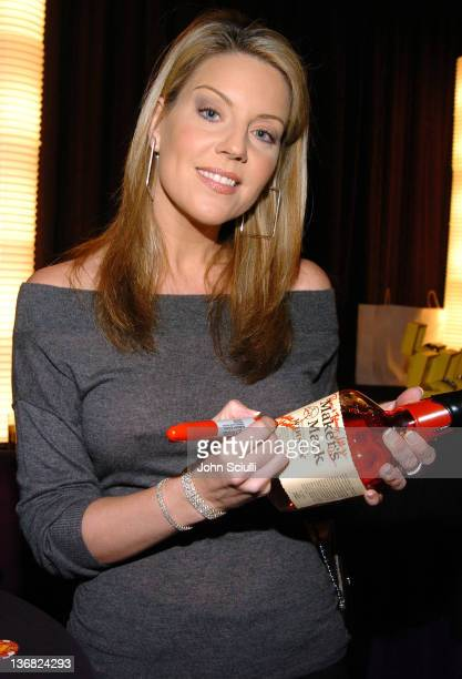 Andrea Parker during Bravo's Celebrity Poker Showdown Talent Gift Lounge Produced by On 3 Productions at The Palms Hotel and Casino in Las Vegas...