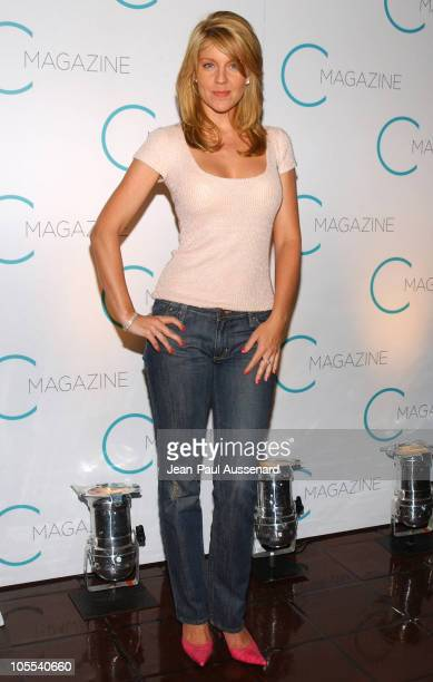 Andrea Parker during C Magazine Launch Party at Chateau Marmont in West Hollywood California United States