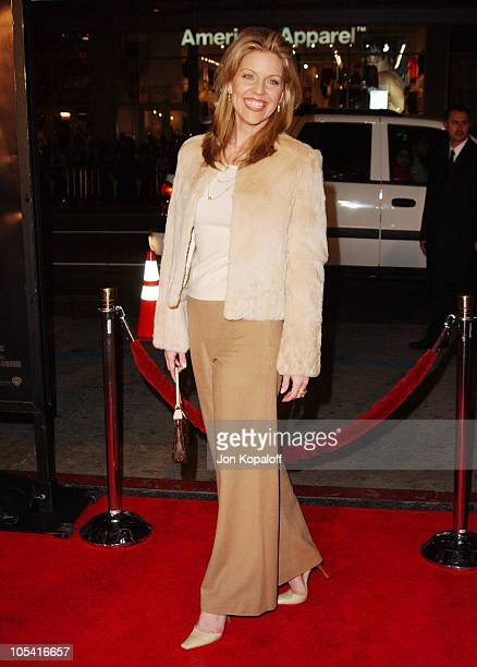 Andrea Parker during 'Constantine' Los Angeles Premiere Arrivals at Grauman's Chinese Theater in Hollywood California United States