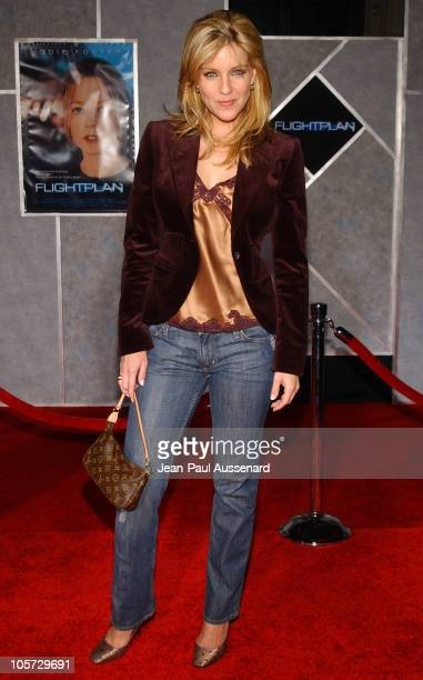 Andrea Parker during 'Flightplan' Los Angeles Premiere Arrivals at El Capitan in Hollywood California United States