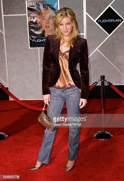 Andrea Parker during 'Flightplan' Los Angeles Premiere at The El Capitan Theatre in Hollywood California United States