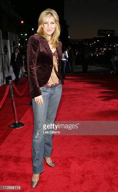 Andrea Parker during Flightplan Los Angeles Premiere Red Carpet at El Capitan Theatre in Hollywood California United States