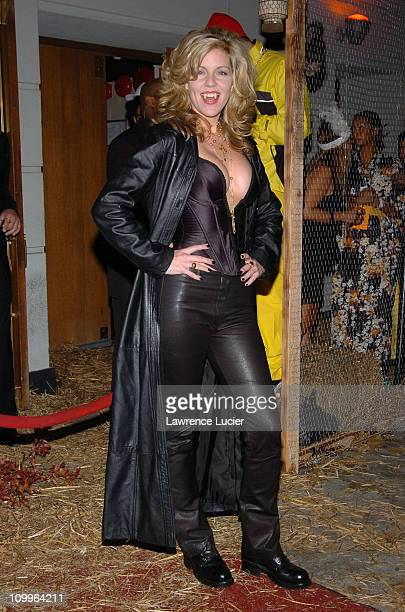 Andrea Parker during Heidi Klum's Halloween Party at Marquee in New York City New York United States