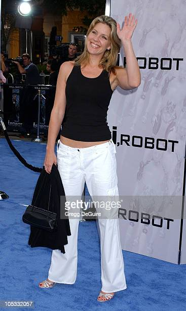 Andrea Parker during 'I ROBOT' World Premiere Arrivals at Mann Village Theatre in Westwood California United States