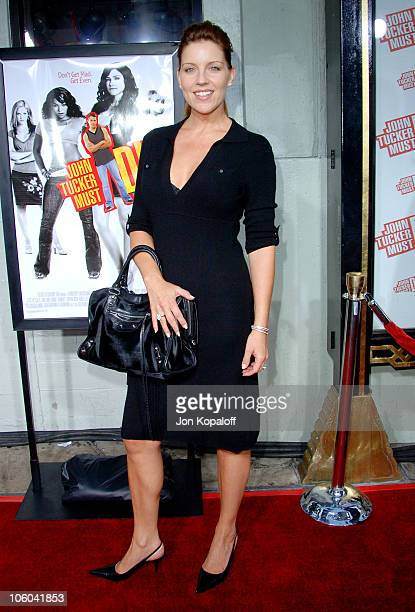 Andrea Parker during John Tucker Must Die Los Angeles Premiere Arrivals at Mann's Grauman Chinese Theater in Hollywood California United States
