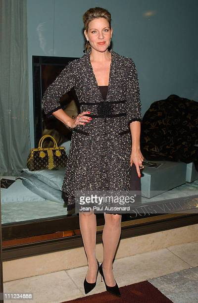 Andrea Parker during Louis Vuitton Cocktail Party to Benefit Project Angel Food at Louis Vuitton Store in Beverly Hills California United States