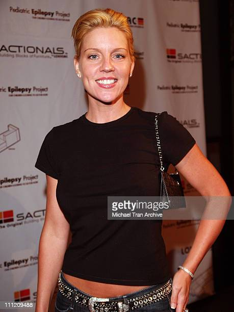 Andrea Parker during LoveSac and Pediatric Epilepsy Project Hosts the Celebrity Signed Sactionals Tour at The Annex @ Hollywood Highland in Hollywood...