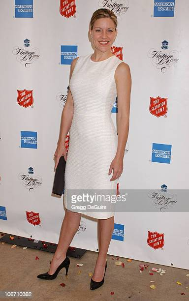 Andrea Parker during Minnie Driver Hosts Vintage LA Fashion Show Benefiting The Salvation Army Alegria at The New Mart in Los Angeles California...