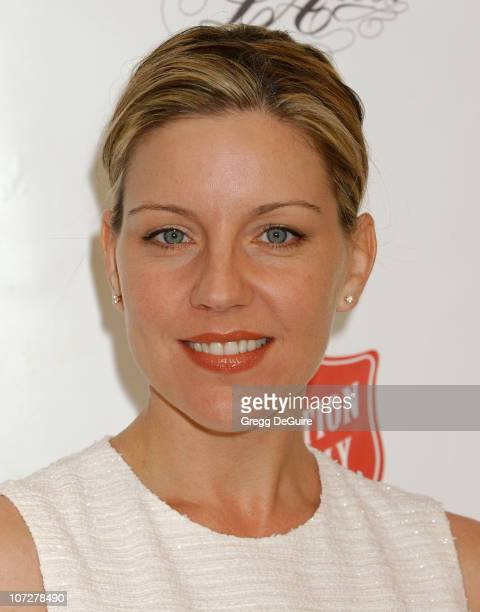 Andrea Parker during Minnie Driver Hosts Vintage LA Fashion Show Benefiting The Salvation Army Alegria at The New Mart in Los Angeles, California,...