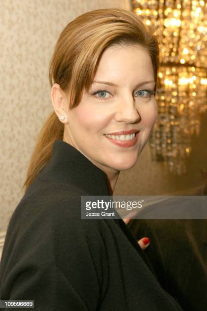 Andrea Parker during Out at Short Reading to Benefit Cure Autism Now at Sportsman Lodge in Los Angeles California United States