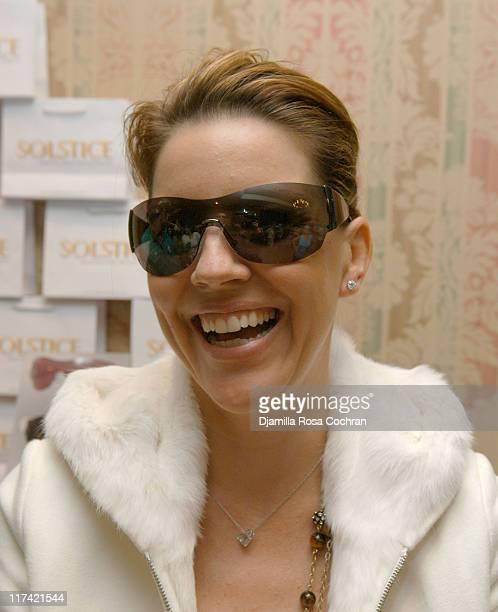 Andrea Parker wearing Giorgio Armani 278S Sunglasses