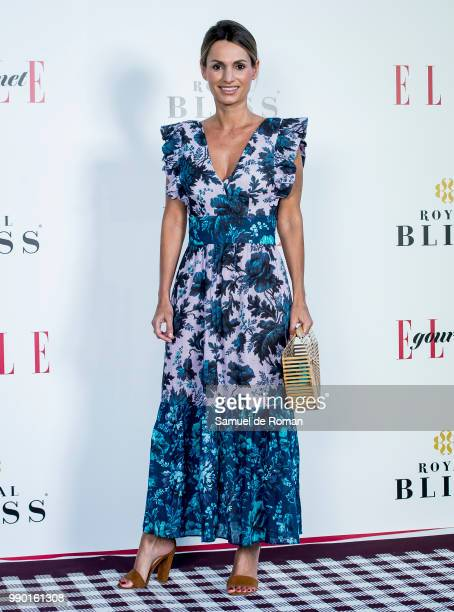 Andrea Pascual attends ELLE Gourmet Awards' 2018 in Madrid on July 2 2018 in Madrid Spain