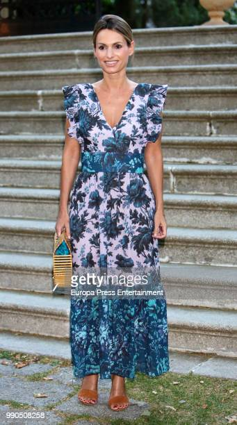 Andrea Pascual attends ELLE Gourmet Awards' 2018 on July 2 2018 in Madrid Spain
