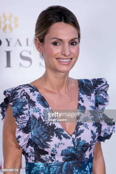 Andrea Pascual attends the 'ELLE Gourmet Awards' 2018 at the Italian Embassy on July 2 2018 in Madrid Spain