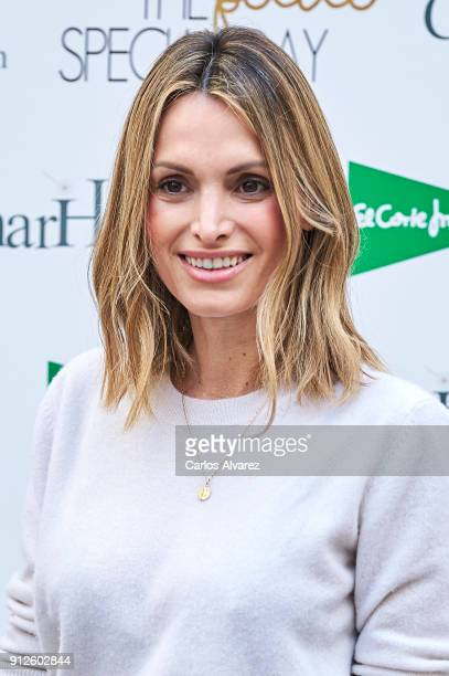 Andrea Pascual attends 'The Petite Special Day' at the Santo Mauro Hotel on January 31 2018 in Madrid Spain