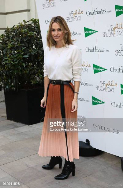 Andrea Pascual attends 'The Petite Special Day' fashion show at the Santo Mauro Hotel on January 31 2018 in Madrid Spain
