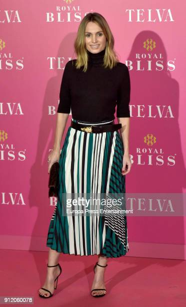 Andrea Pascual attends the 'Telva Awards' 30th Anniversary on January 29 2018 in Madrid Spain