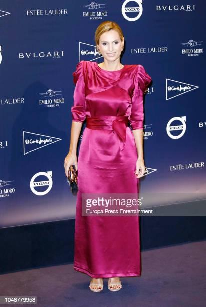 Andrea Pascual attends the Telva Tribute Gala 2018 at Real Academia de Bellas Artes de San Fernando on October 9 2018 in Madrid Spain