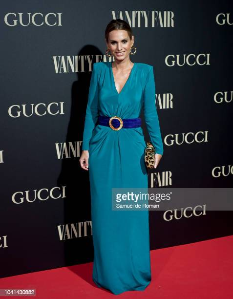 Andrea Pascual attends 'Vanity Fair's Personality of the Year' Awards at Royal Theatre on September 26 2018 in Madrid Spain