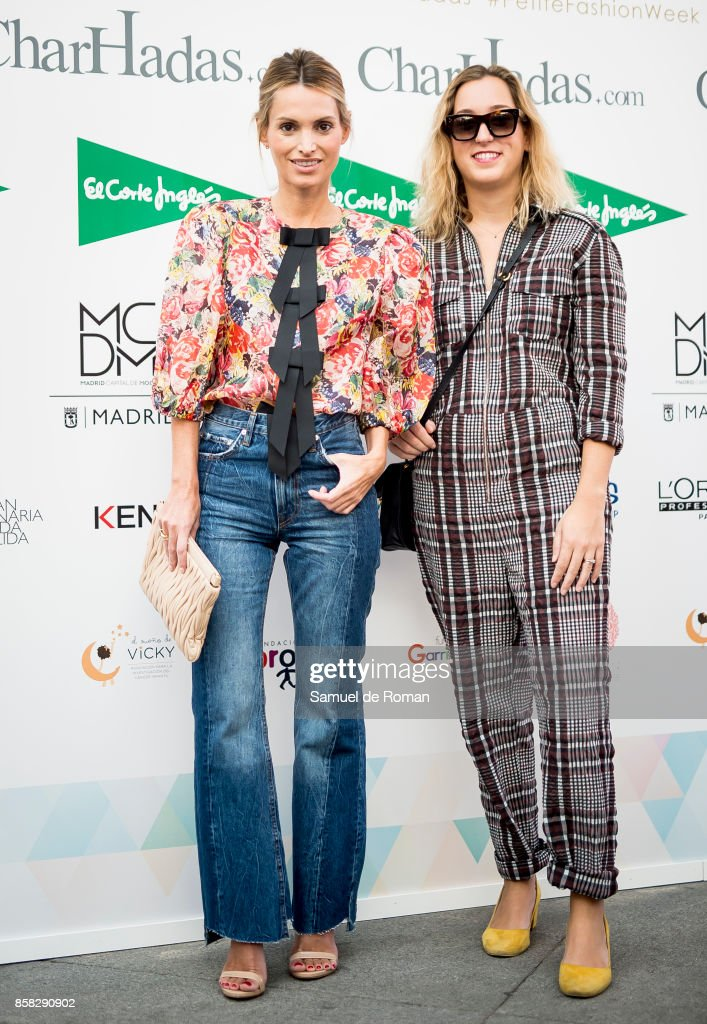 Andrea Pascual during 'The Petite Fashion Week' photocall in Madrid on October 6, 2017 in Madrid, Spain.