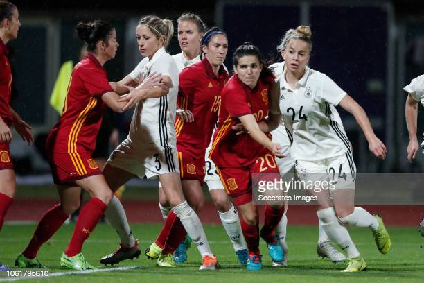 Andrea Pereira Cejudo of Spain Women Giulia Gwinn of Germany Women during the International Friendly Women match between Germany v Spain at the...