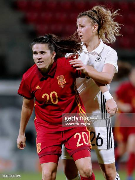 Andrea Pereira Cejudo of Spain Women Lena Lattwein of Germany Women during the International Friendly Women match between Germany v Spain at the...