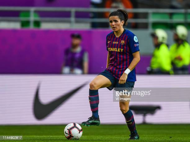 Andrea Pereira of FC Barcelona women during the UEFA Women's Champions League final match between Olympique Lyonnais women v FC Barcelona women on...