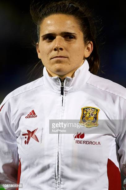 Andrea Pereira of Spain during the friendly match between Spain and USA at Rico Perez Stadium in Alicante Spain on January 22 2019