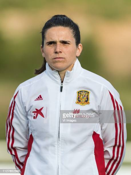 Andrea Pereira of Spain women during the Algarve Cup 2019 match between Spain and The Netherlands at Estadio Municipal Bela Vista on February 27 2019...