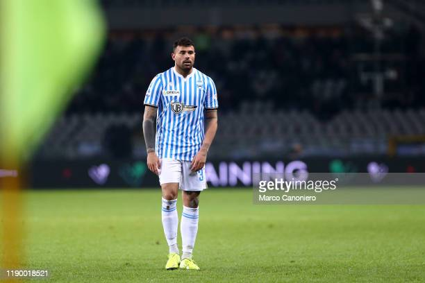 Andrea Petagna of Spal during the Serie A match between Torino Fc and Spal Spal wins 21 over Torino Fc