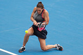 melbourne australia andrea petkovic germany plays
