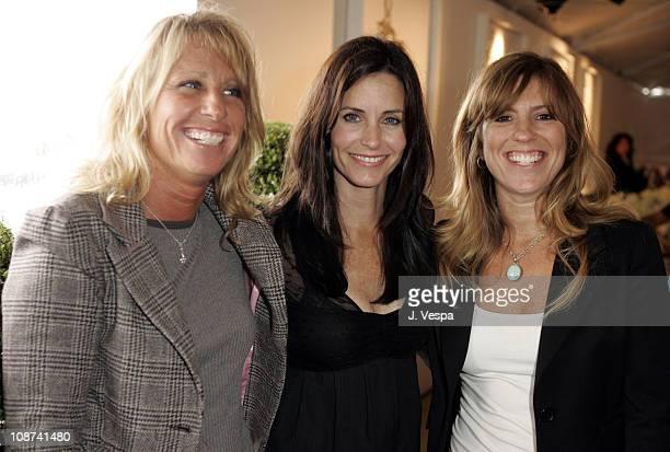 Andrea Pett Joseph, Courteney Cox Arquette and Cynthia Pett Dante