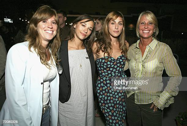 Andrea Pett Joseph Rashida Jones Summer Phoenix and Cynthia Pett Dante attend Some Odd Rubies West Coast Store Opening hosted by Gran Centenario...