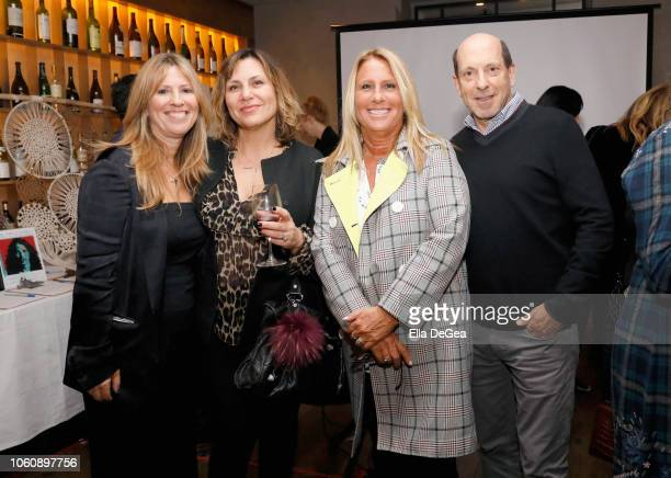 Andrea PettJoseph Joanne Colonna Cynthia Pett Dante and Jon Liebman attend the EBMRF hosts Sip Savor Support at Wally's Beverly Hills on November 12...