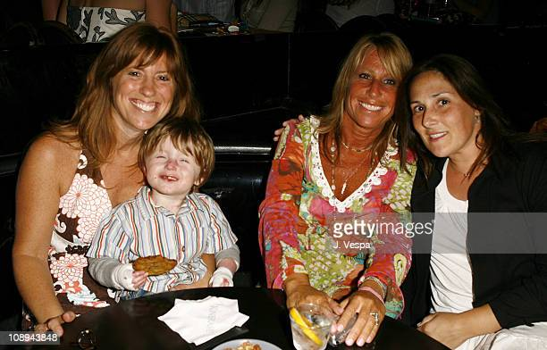 Andrea PettJoseph with her son Cynthia PettDante and Rickie Lake