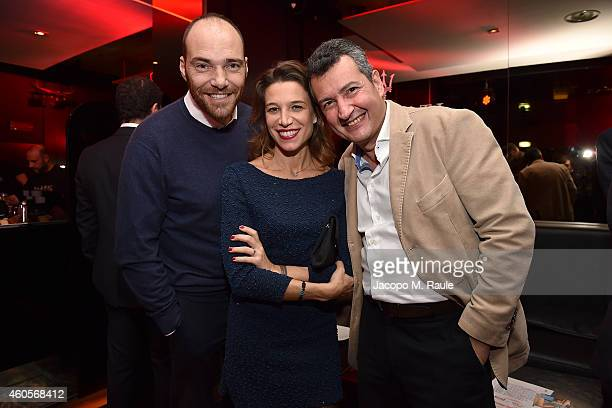 Andrea Pezzi attends Infront Christmas Party on December 16 2014 in Milan Italy