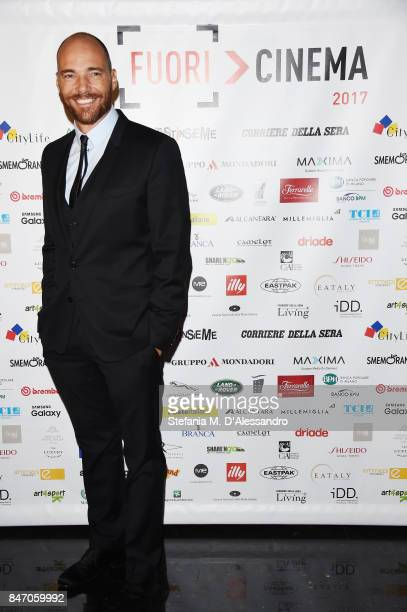 Andrea Pezzi attends the Gala Dinner of FuoriCinema on September 14 2017 in Milan Italy