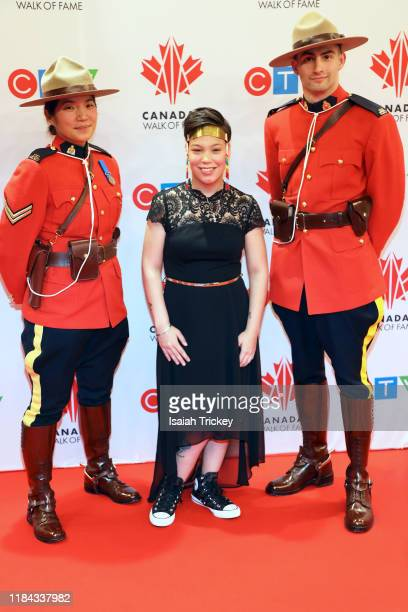 Andrea Phillips attends the 2019 Canada's Walk Of Fame at Metro Toronto Convention Centre on November 23 2019 in Toronto Canada