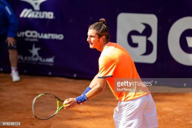 Andrea Picchione during match between Pietro Licciardi and Andrea Picchione during day 1 at the Interzionali di Tennis Citt dell'Aquila in L'Aquila,...