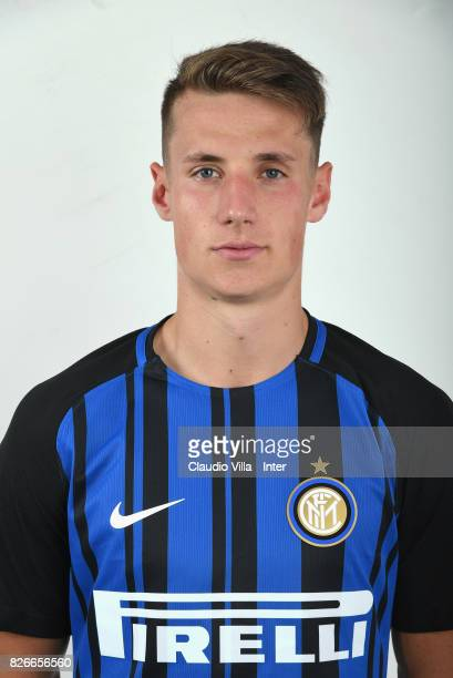 Andrea Pinamonti of FC Internazionale poses on July 7 2017 in Reischach near Bruneck Italy