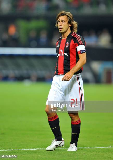 Andrea PIRLO Milan AC / Auxerre Champions League 2010/2011 Stade San Siro Milan Photo Dave Winter / Icon Sport