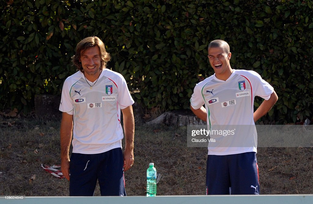 Italy Training Session & Press Conference : News Photo