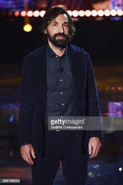Andrea Pirlo attends E poi c'e' Cattelan TV Show on March 29 2018 in Milan Italy